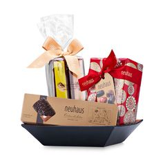 Send gourmet chocolates gift baskets and luxury sweets to friends, family, and colleagues for Christmas 2015.
