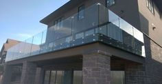 Glass Inc. recently used and installed our products to achieve this modern glass fencing system. What do you all think? #modern #modernfencing #glass #glassfencing #glassfence #modernhouse #newhouse #designguide #euroachitecturalcomponents #standoffs #stainlesssteel #canada
