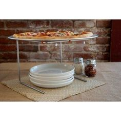 Pizzacraft Pizza Pan and Serving Stand Set.