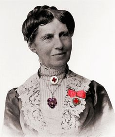 Clara Barton...Founder Red Cross