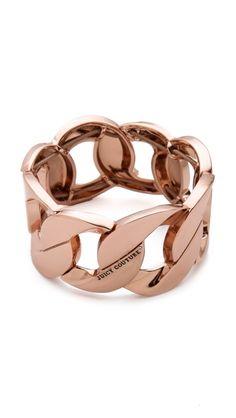 #JuicyCouture Stretch Chain Bracelet  #glitterinjuicy #givemewhatiwant