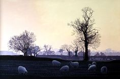 Annie Ovenden: 16th April 2015   Sheep and Sunshine through the Mist