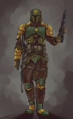 Star Wars Fan Art, D&d Star Wars, Star Wars Boba Fett, Star Wars Party, Star Wars Characters Pictures, Star Wars Images, Mandalorian Cosplay, Star Wars Painting, Star Wars Bounty Hunter