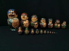 Vintage Matryoshka Russian Nesting Dolls by Artist Alexander Zaitsev | Collectibles, Historical Memorabilia, Political | eBay!
