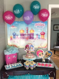 220 2448x3264 Pixels Shimmer Y Shine 6th Birthday Parties 4th