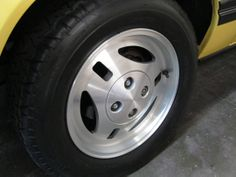 1983 Ford Mustang TRX Wheels