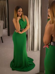 minnie dlamini green dolled mamas green style