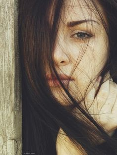 A girl's face is an art.