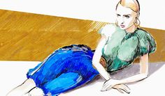 Interview with fashion illustrator Melique Street