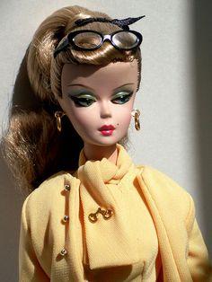 Silkstone Barbie the Secretary   Flickr - Photo Sharing!