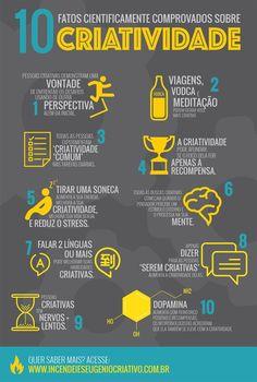 10 fatos sobre criatividade