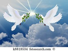 Picture of Doves of peace with olive branch symbol of Easter stock photo, images and stock photography. Dove Pictures, Jesus Pictures, Nature Pictures, Dove With Olive Branch, Dove And Olive, Nicolas Vanier, Olive Branch Tattoo, Best Photo Background, Peace Dove