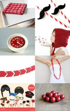 Party Themed Etsy Treasury by ReddApple.etsy.com  #etsy #teaminspired #party #red