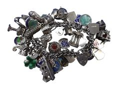 Vintage charm bracelets can be sold to Vintage Cash Cow, even with missing or broken charms.