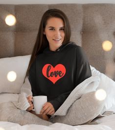 Love hoodie, love sweater gift for daughter, lazy sweaters, cute hoodies, cute sweaters, valentine's day clothing, original sweaters Cute Sweaters, Pullover Sweaters, Sweaters For Women, Shirt Mockup, Sweater Fashion, Lazy, Daughter, Valentines, Bride