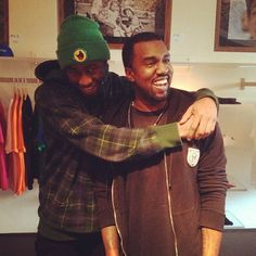 Christmas came early for Tyler, the Creator when Kanye West made an surprise stop to the Odd Future Store in LA over the weekend.