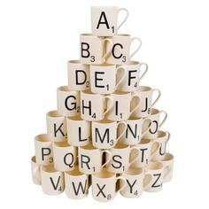 SCRABBLE Mug R by Wild & Wolf #productdesign