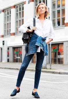 jeans + mochila