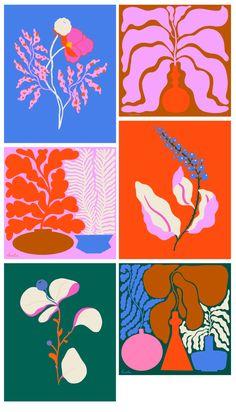 Lucila pernini Art Inspo, Painting Inspiration, Vintage Illustration, Graphic Illustrations, Graphic Design Illustration, Posca Marker, Plakat Design, Arte Sketchbook, Ideias Diy