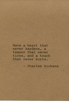 Charles Dickens Quote Made on Typewriter by FlightOfFancyPrints
