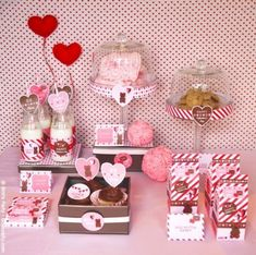 Valentine's Day Sweet Party Printables Supplies & Decorations Kit with Invitations My Funny Valentine, Kinder Valentines, Valentine Theme, Valentines Day Party, Valentines Day Decorations, Valentine Ideas, Printable Valentine, Valentine Nails, Homemade Valentines