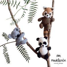 """Madelenón Patrón de crochet """"Mi Bosque Tropical"""""""