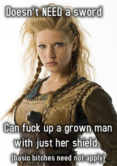 """The Hottest Pictures Of Katheryn Winnick (Lagertha Lothbrok) From The Hit Show """"Vikings"""" Katheryn Winnick Vikings, Lagertha Vikings, Lagertha Hair, Vikings Tv Show, Vikings Tv Series, Ragnar Lothbrok, Viking Warrior, Viking Woman, Female Viking"""