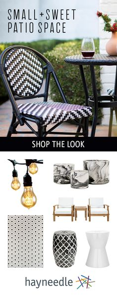 If you have a neglected balcony or one you thought you could never decorate, here's some news: You can create a hangout with the help of a bistro set, outdoor loveseat, garden stools, and more. Fill the space to make it appear larger and make it an extension of your indoor space. Free shipping on orders over $49.