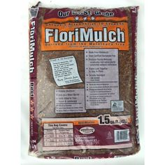 FloriMulch Melaleuca 1.5-cu ft Brown Hardwood Melaleuca Mulch