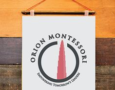 "Check out new work on my @Behance portfolio: ""Orion Montessori School Logo"" http://on.be.net/1NXvqi6"