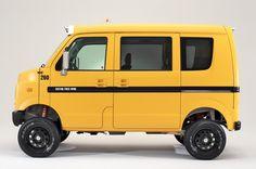 Suzuki EVERY Boogie rider light custom Suzuki Wagon R, Suzuki Every, Kei Car, Mini Camper, Suzuki Swift, Suv Cars, Honda Odyssey, Mini Trucks, Smart Car
