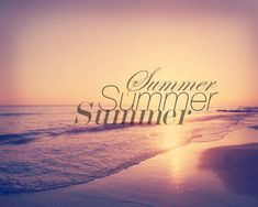 summer vacation at the beach!!