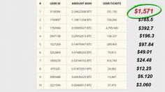 free bitcoin lottery results sun 23 10 2016