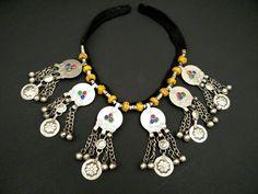 Afghan Tribal Necklace Traditional Vintage Antique Handmade Jewelry Kuchi Boho Necklace Ethnic Indian Turkish Nepal Jewelry Banjara Necklace by RareFindingsUS on Etsy