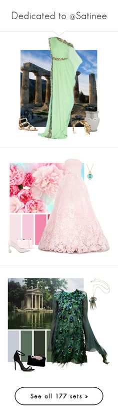 """Dedicated to @Satinee"" by alara-cary ❤ liked on Polyvore featuring Lonely Planet, Marchesa, Lelet NY, Steve Madden, Oscar de la Renta, Rocio, Christian Dior, Yanina, Boohoo and La Fille Des Fleurs"