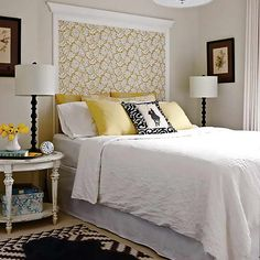 awesome unique headboard ideas with white bedding
