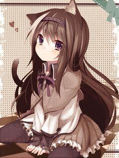 Image about girl in Anime by Hazel Owers on We Heart It Anime Girls, Anime Girl Neko, Anime Neko, Manga Girl, Manga Anime, Kawaii Neko Girl, Lolis Neko, Loli Kawaii, Cute Neko Girl