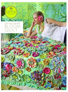 Oh WOW!  I LOVE this quilt!!  Free Pattern....