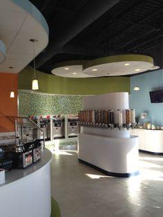 SKP Design Restaurant Hospitality YOPA Frozen Yogurt Portage MI