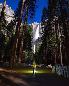Exploring Yosemite by night is a must!  Courtesy of @tiffpenguin! Tag your best travel photos with #beautifuldestinations by beautifuldestinations