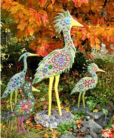 The work of mosaic artist Clare Dohna, Vashon Island, WA