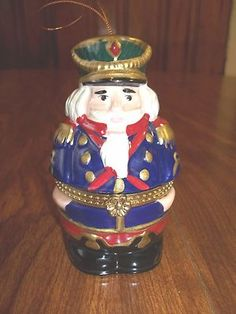 Mr Christmas Porcelain Nutcracker Music Box Tree Ornament | eBay