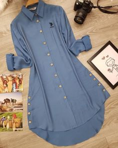 Stylish Dresses For Girls, Stylish Dress Designs, Kurta Designs Women, Blouse Designs, Fashion Pants, Fashion Outfits, Only Shirt, Sleeves Designs For Dresses, Kurti Designs Party Wear