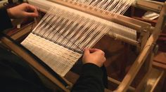 Waffle weave on a rigid heddle loom