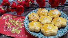 LY's Kitchen Ventures: Salted Egg Yolk Cookies