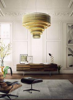 Amazing chandelier; love this room. | japanesetrash.com