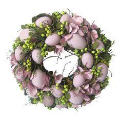 Påskkrans i lila toner - Liten Tea Tree Oil Toner, Easter Flowers, Easter Holidays, Easter Wreaths, Diy Wreath, Easter Crafts, Happy Easter, Easter Eggs, Floral Wreath