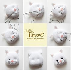 Best 11 PDF sewing pattern for Blank Cat Doll for crafting 37 inches - DIY tutorial- ready to print Felt Crafts Diy, Cat Crafts, Sewing Stuffed Animals, Stuffed Animal Patterns, Diy Cat Toys, Felt Cat, Felting Tutorials, Cat Doll, Sewing Toys