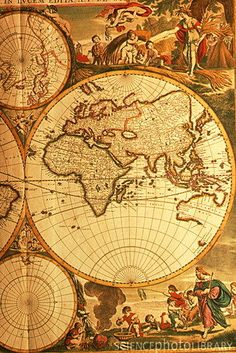 ~` map of the old world `~
