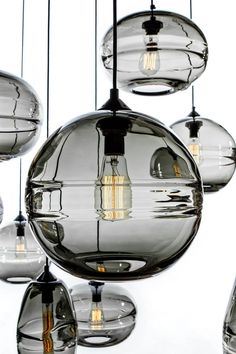 Lighting Innovations | Clear Band Pendant by John Pomp | Check out more great content at: www.emrld14.com